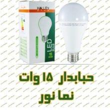 لامپ ال ای دی حبابدار نمانور ۱۵ وات