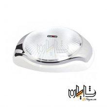 قاب حبابی تک لامپ شفاف پارس لایت مدل لاوین طرح دار