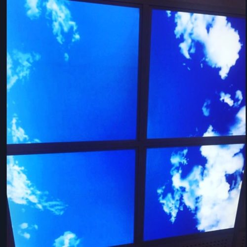 پنل ال ای دی طرح آسمان