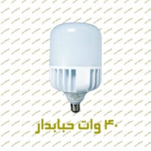 لامپ ال ای دی حبابدار ۴۰ وات ZFR