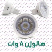 لامپ هالوژن سوزنی اف اس ال ۵ وات